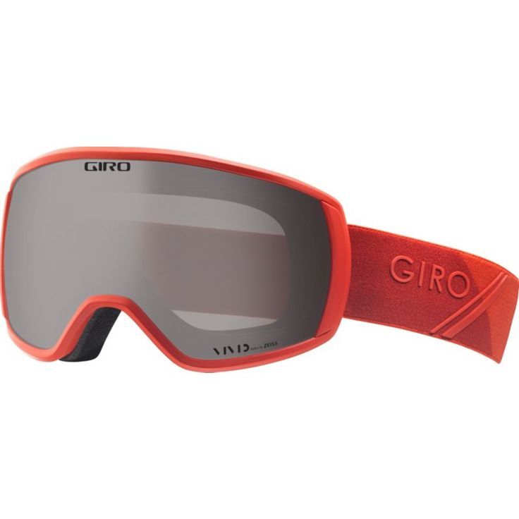 Giro Adult Balance Snow Goggles, Red