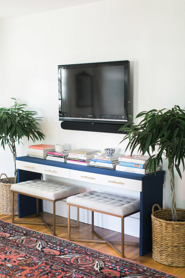 Ikea hack diy console table ikea hack and console tables - Ikea table tv ...