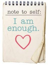 I.am.enough.