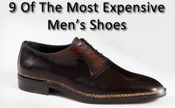 most expensive men's shoes