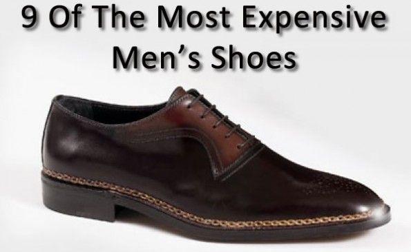 most expensive men's shoes