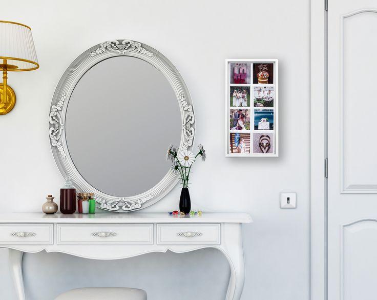 White Display Unit. Wedding Memories. http://magnapix.net