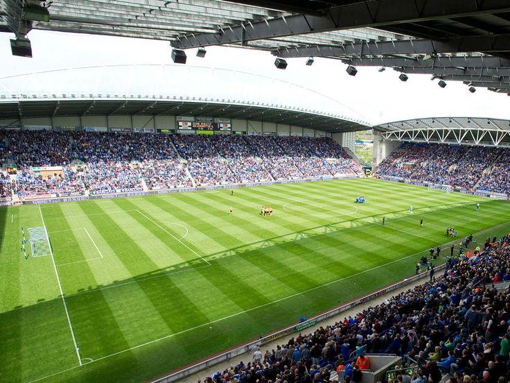 Wigan Athletic F.C. DW Stadium Stadion, Fussball