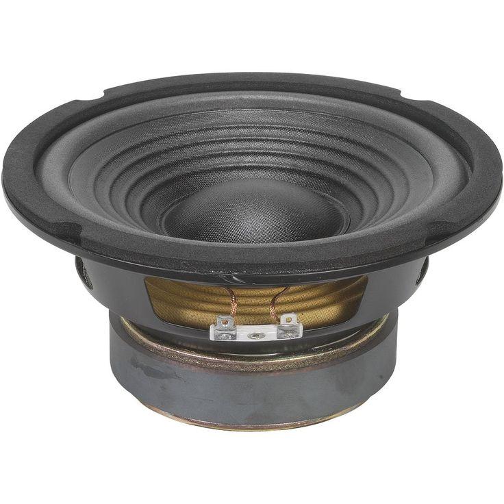 """Goldwood GW-206/4 6-1/2"""" OEM Woofer 4 Ohm. Car Woofer Speaker. Truck Audio Woofer Speaker. Replacement Woofer Speaker."""