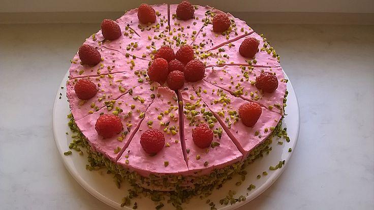 Pfirsich - Melba - Torte 5