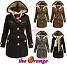 NEW LADIES HOODED INNER FUR TARTAN CHECK LINING PARKA JACKET WOMENS LONG COAT in Clothes, Shoes & Accessories, Women's Clothing, Coats & Jackets |£49.99