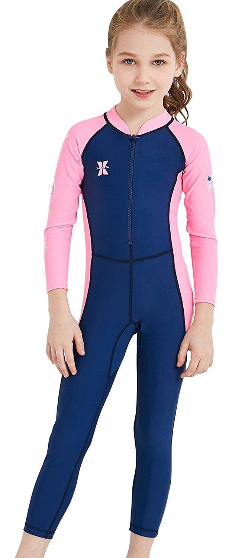 Long Sleeve Rashguard Swimsuit Boys Cover Up Swim Shirt Bathing UV Protection LS