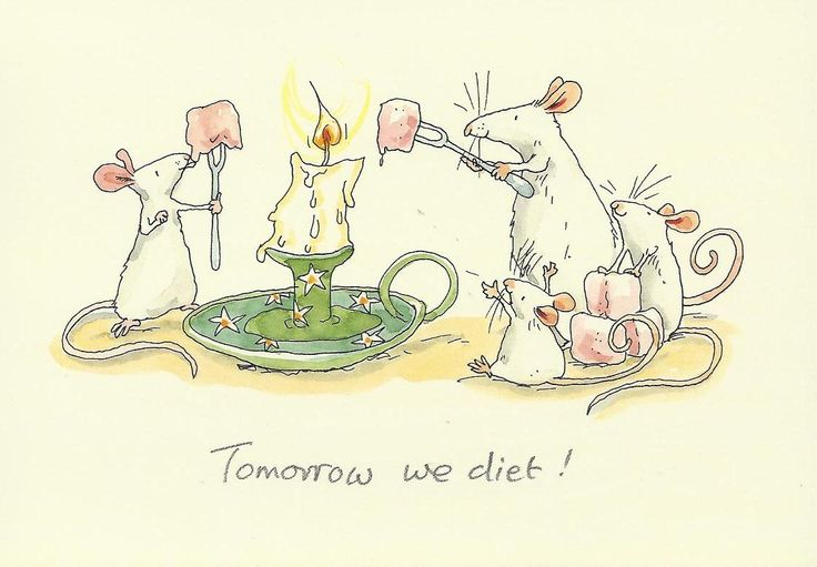 Tomorrow We Diet!...reminds me of Grams :)
