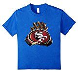 Friends San Francisco Football 49ers Players Gloves T- Shirt