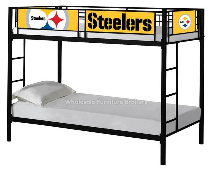 Pittsburgh Steelers Bunk Bed By NFL Furniture