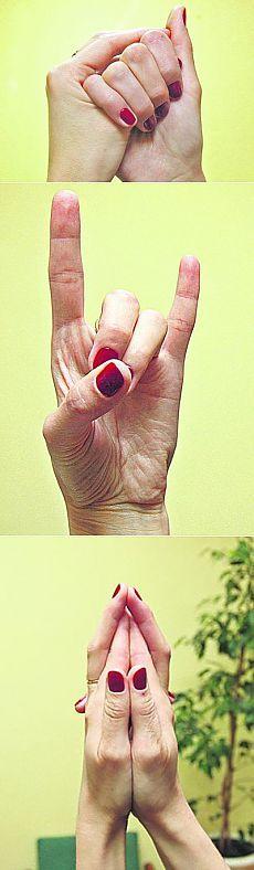Йога для пальцев: «Корова» поможет суставам, а «черепаха» — сердцу.