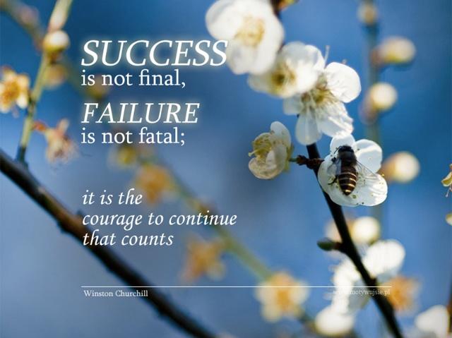 Odwaga, aby kontynuować…