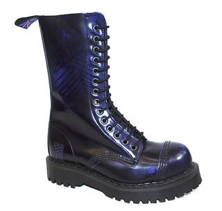NPS - Spider Steel Boot With Stitched Toe Cap (14 Eyelet) - NPS07