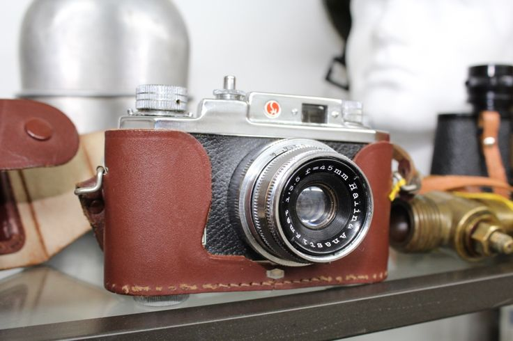 Vintage Halina 35X Camera in Fitted Case, £16.00