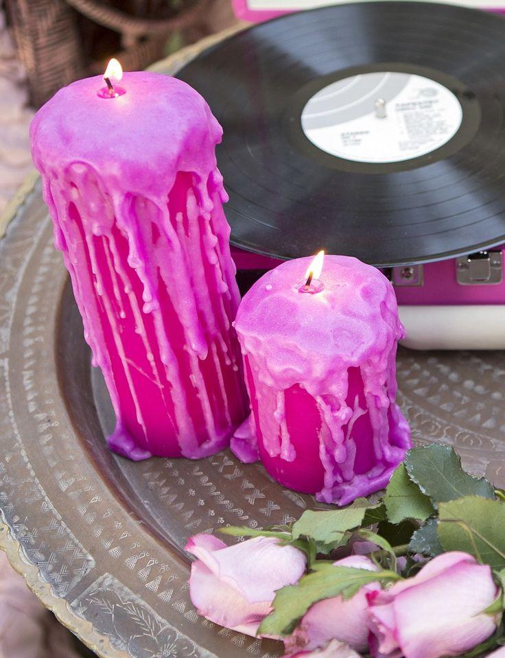 WICKed hand-dripped FLUSH CANDLE - Junk GYpSy co. // Miranda lambert // april pizana photo