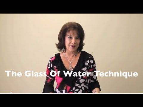 How To Solve Problems Using Energized Water - The Glass of Water Technique of The Silva Method