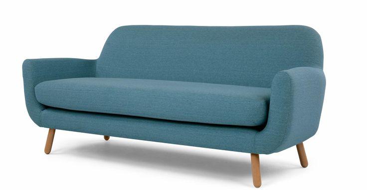 Jonah 3-Sitzer-Sofa, Marineblau