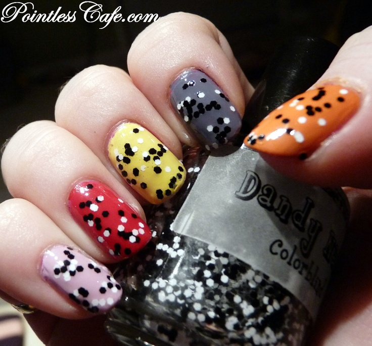 Dandy Nails Colorblind - Swatches and Review | Pointless Cafe