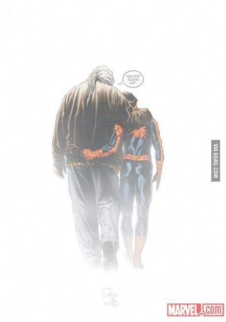 Ultimate SpiderMan epic picture.