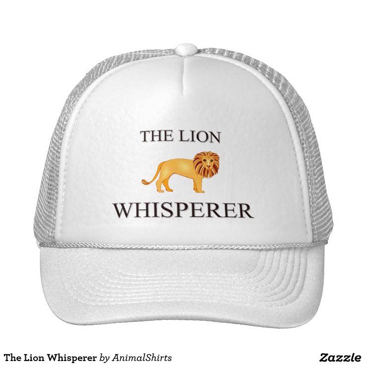 The Lion Whisperer Trucker Hat
