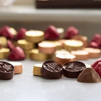 Fun foiled chocolates with local Vermont ingredients from www.LakeChamplainChocolates.com