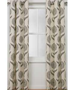 Inspire Allium Ring Top Curtains - 168x229cm.