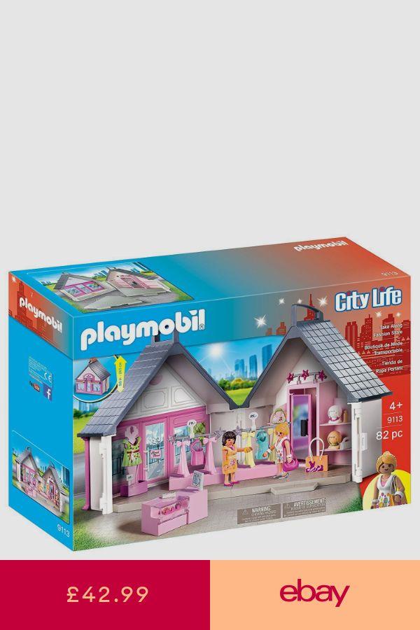 Playmobil 9113 City Life Take Along Fashion Store Playset Playmobil Toys Playmobil Fashion Store