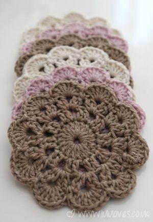 Crochet mandala-type pattern by MarylinJ