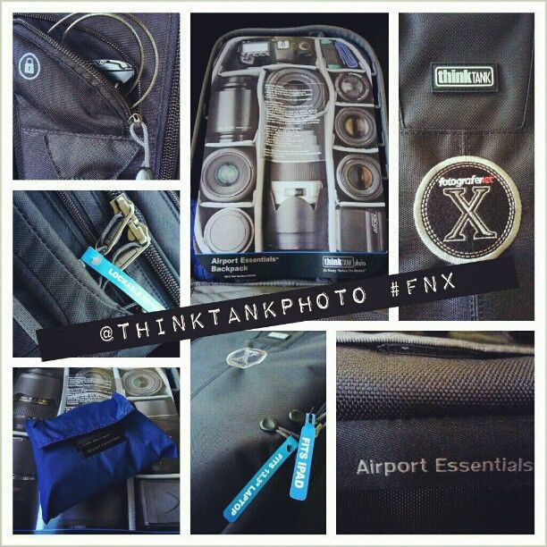 Camera backpack @ThinkTankPhoto Airport Essentials special edition #FNX @FotograferNet @FNshop