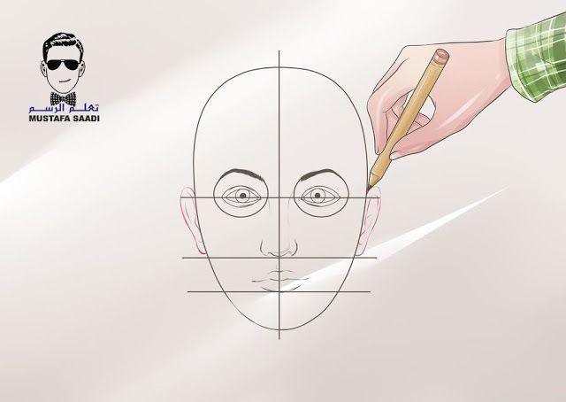 تعلم رسم الوجه Peace Gesture Blog Posts Male Sketch