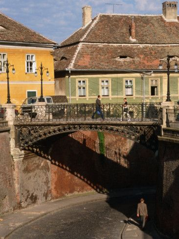 The Liar's Bridge, Sibiu, Romania