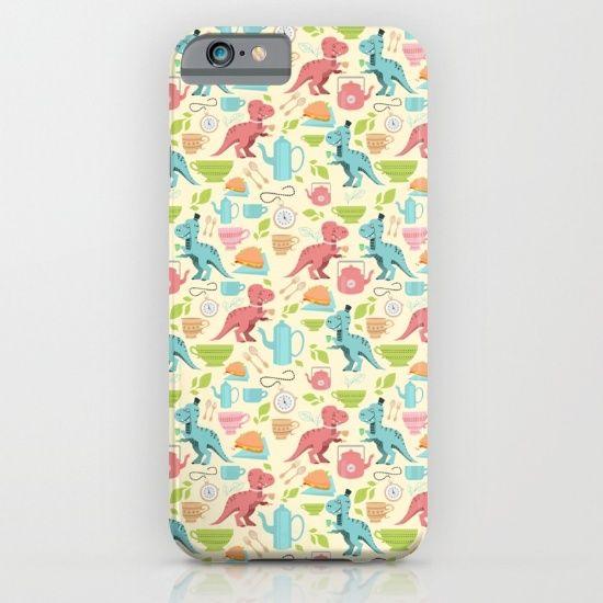 Tea Rex iPhone & iPod Case by Erika Biro | Society6