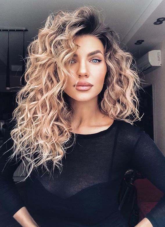 34+ Curly hairstyles for medium hair ideas