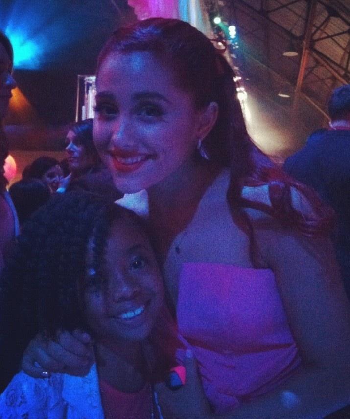 Ariana Grande and Skai Jackson
