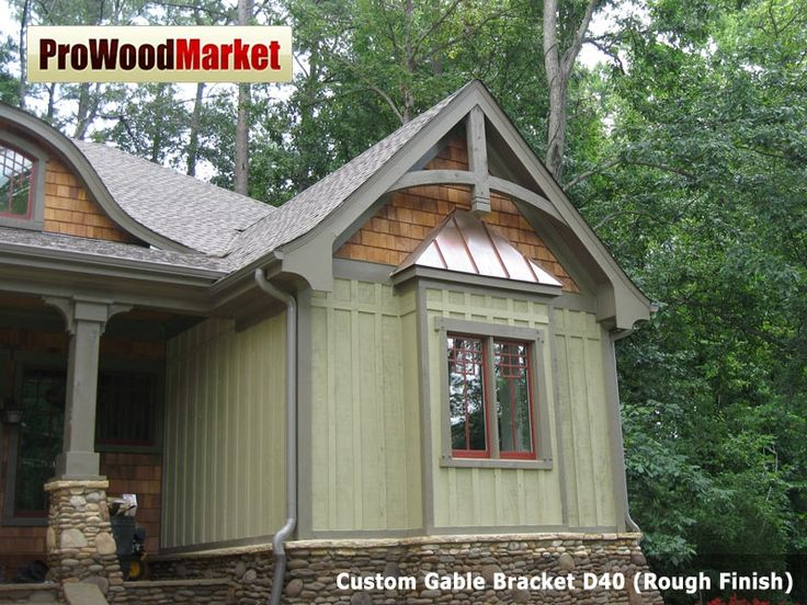 Elevation Wood Flooring : Custom gable bracket d and wooden corbel t products
