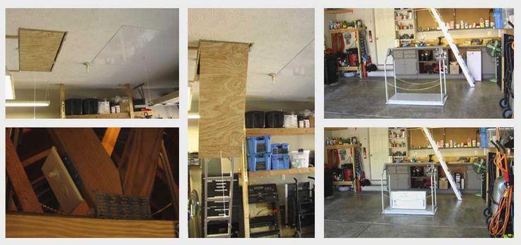 Attic Lift installation pictures | Versalift Attic Lifts - The #1 Preferred Attic Lift