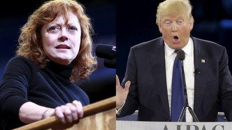 Susan Sarandon prefers Donald Trump over Hillary Clinton - http://conservativeread.com/susan-sarandon-prefers-donald-trump-over-hillary-clinton/