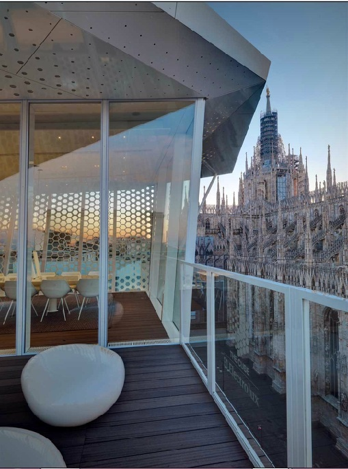 The Cube Restaurant, Milan 15