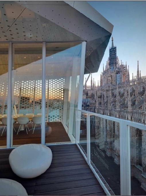 The Cube Restaurant in Milan