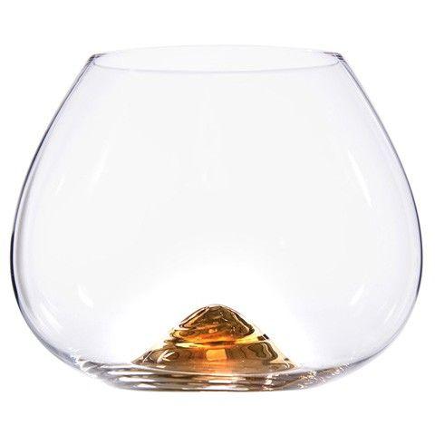Skrufs Glasbruk - www.skrufsglasbruk.se - Cognac Guld