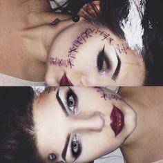 Bride of Frankenstein makeup                              …