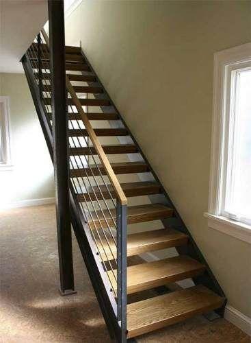 escaleras de madera, metal o mixta, excelentes terminaciones