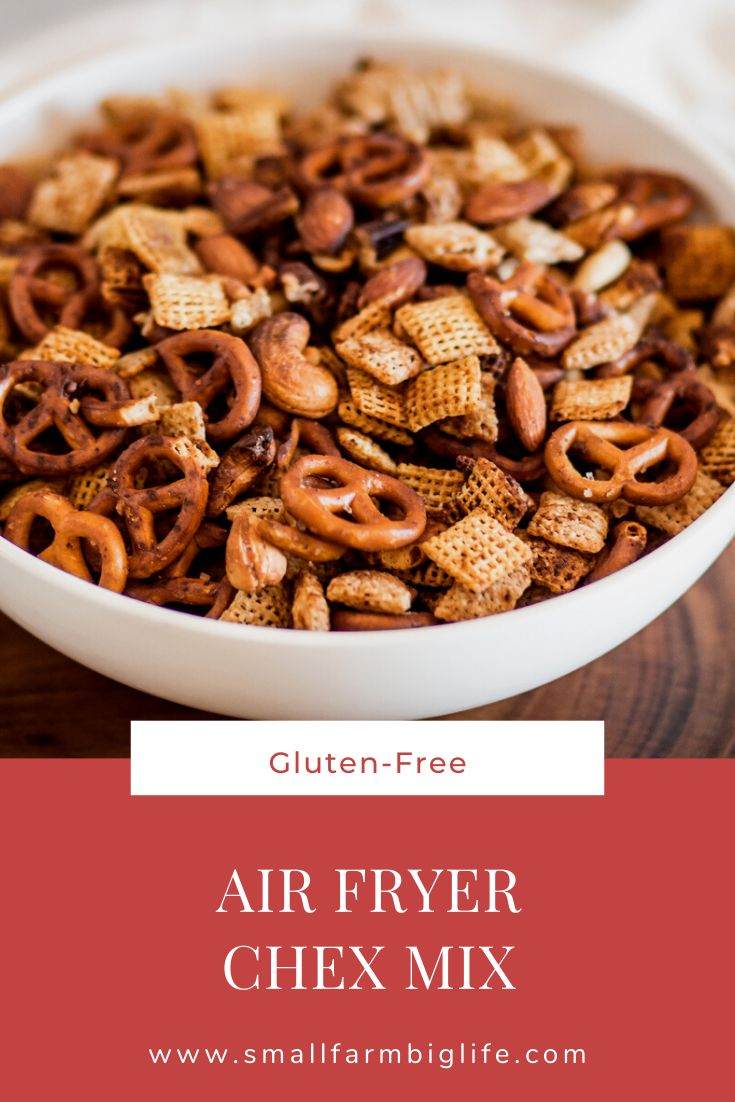 Gluten Free Air Fryer Chex Mix Chex mix recipes, Chex
