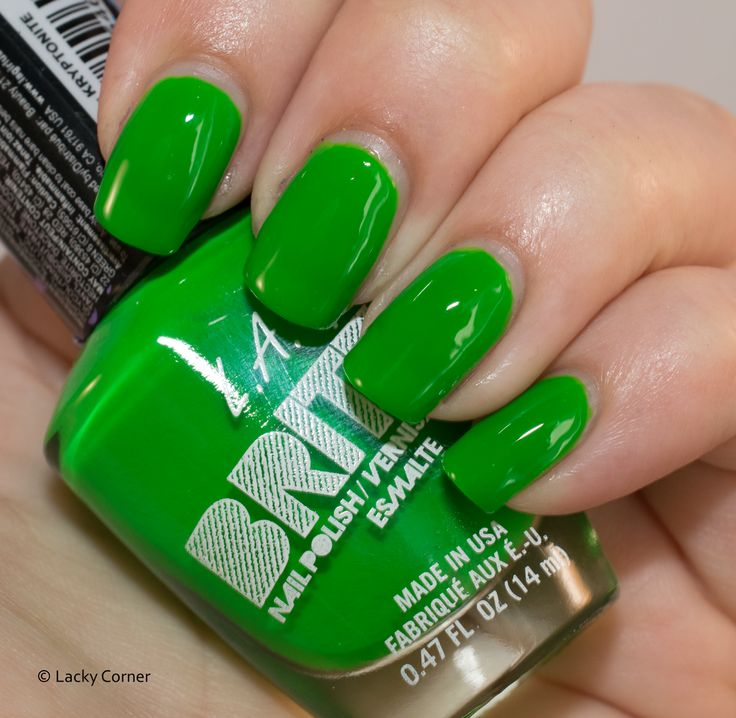 Lacky Corner:@lagirlcosmetics  Brites - Kryptonite