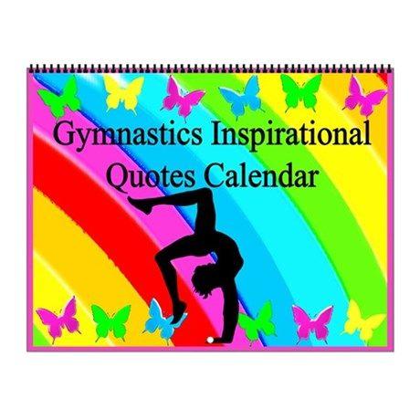 Pretty Gymnastics Wall Calendar Inspire your awesome Gymnast to go for gold with our original and motivational Gymnastics Calendars. http://www.cafepress.com/sportsstar/10135150  #Gymnastics #Gymnast #WomensGymnastics #Gymnastgift #Lovegymnastics #Gymnastcalendar #Gymnasticscalendar