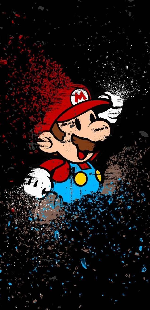 Mario Bros Wallpaper Fondos De Mario Fondos De Pantalla Hd Para Iphone 1440x2560 Wallpaper