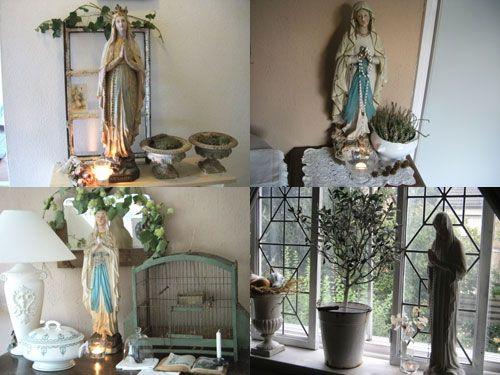 1000 images about binnenkijken bij brocante interieurs on pinterest toilets exterior colors - Deco romantische ouderlijke kamer ...