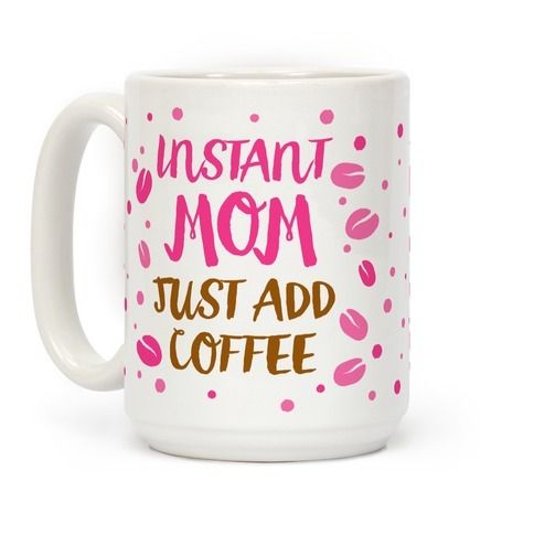 Show off your love for your beautiful mother with this goofy, coffee lover's, Mother's day gift coffee mug! It's the perfect gift for mom's who just love coffee!