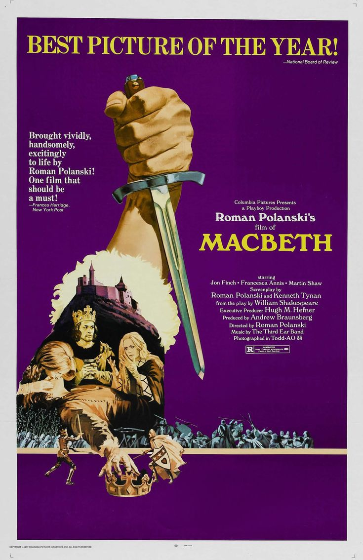 roman polanskis macbeth essay How does roman polanski interpret macbeth what are some of the modified key scenes of macbeth, and how has he portrayed the.