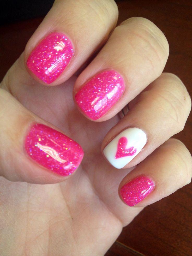 41 Spoiled Gentle Pink Nail for Teen Ladies